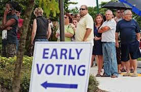 vite1 DEMOCRATS FILE BILLS TO INCREASE EARLY VOTING HOURS