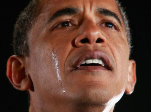 AObama Crying 300x223 Will America now find the will to take a stand against guns?