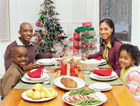 BLACK FAMILY THIS ONE2221 Christmas offers people time to reflect on family and more