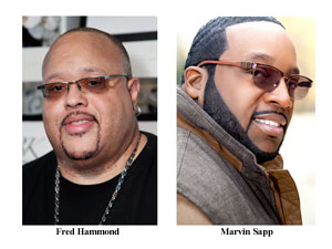Fred Hammond Marvin Sapp Hammond and Sapp nominated  for  Grammy Awards