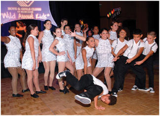 Hank Kline dance team Sixth Annual Wild About Kids Gala