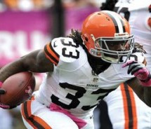 Trent Richardson ties Jim Brown's rookie TD mark