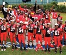 Tacolcy's Jr. Peewee Raiders prove they're number one by bringing home the Pop Warner Super Bowl National Championship Trophy