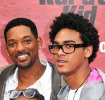 TheKarateKid Will Smith performs during son Trey's DJ set at Miami Club