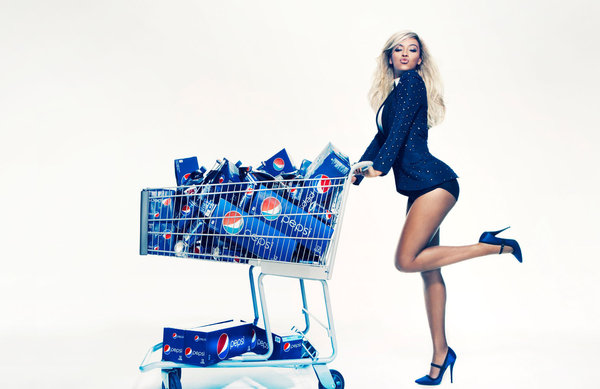 la et ms beyonc inks 50 million deal with peps 001 Beyonce inks $50 million deal with Pepsi