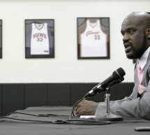 The 'Big Aristotle' Launches 'Luv Shaq' Vodka Line