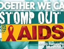 STOMP OUT AIDS!