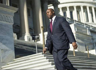tim scott Black freshman tea party Republican, Scott attracts extensive Praise