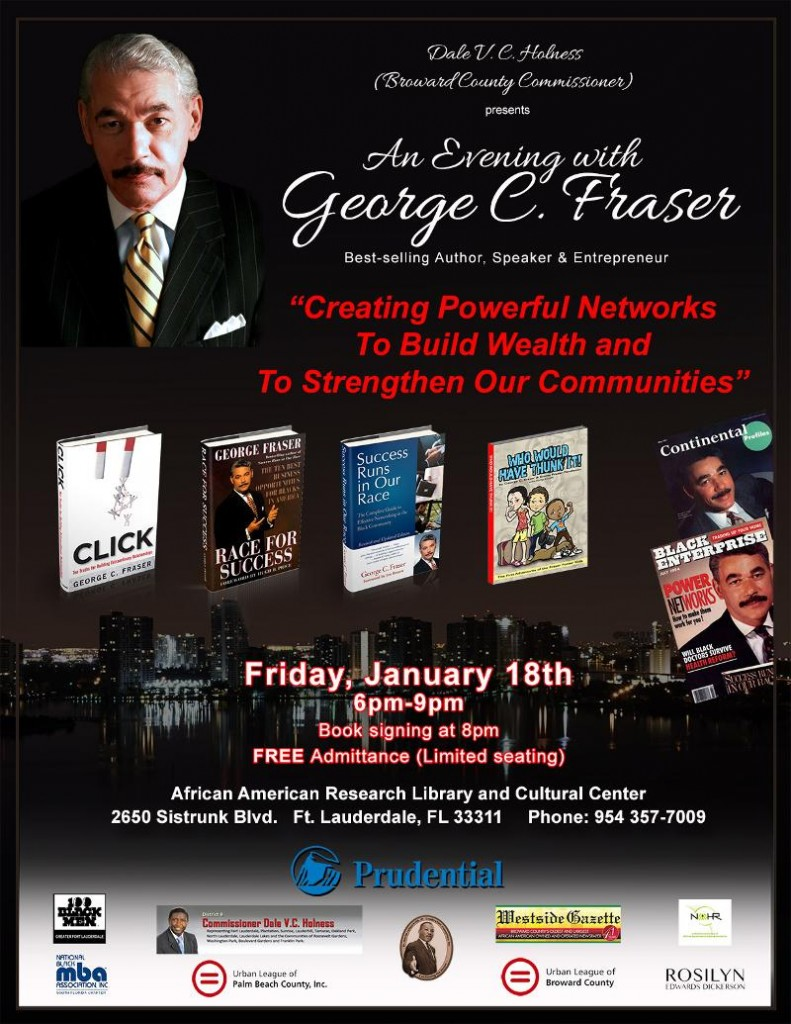 7362 791x1024   Come Spend an evening with George Fraser in Ft Lauderdale, FL   Jan 18th...Join Us!!!