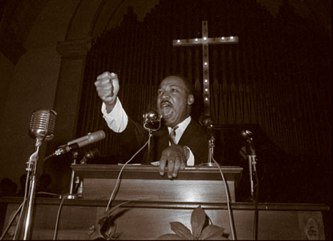 DR KING4 this one Preaching from the Pulpit: The history of Black churches in the struggle for freedom in America