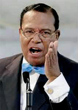 Farakkan this one Louis Farrakhan (born Louis Eugene Walcott; May 11, 1933) is the National Representative of the Nation of Islam.
