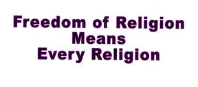 Freedom of religion copy Freedom of religion
