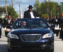 MASONS MADE A GRAND APPERANCE IN THE MLK PARADE