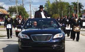 GM Stafford SGW Jones D MASONS MADE A GRAND APPERANCE IN THE MLK PARADE