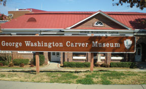 GWashington Carver Tuskeeg Take a walk in the parks to see Black History