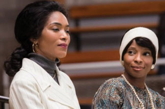 LIFETIMES BETTY CORETTA  First Look: Mary J. Blige and Angela Bassett as Coretta Scott King and Betty Shabazz