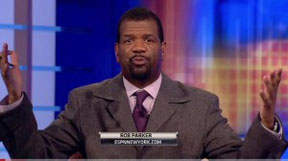 ROB PARKER Parker suspended from ESPN Minstrel Show
