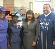 Lucille Scruggs, Retired educator and Church Mother at Mount Calvary Baptist Church in Pompano Beach