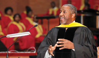 TUSKEGEE UNIVERSITY Tuskegee University honors George Washington Carver, speaker warns against irrelevancy