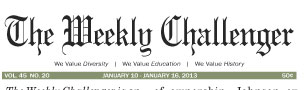 The Weekly Challenger Still Standing: 'The Weekly Challenger' celebrating 46 years of service