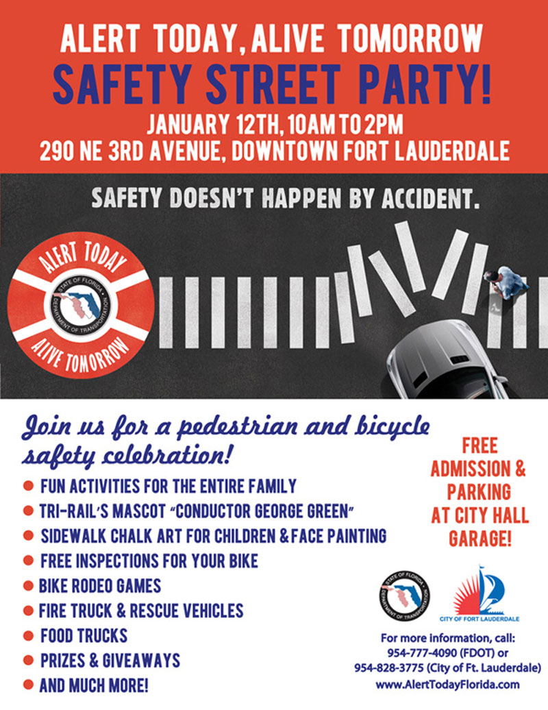 alertalive Safety Street Party   Saturday, January 12