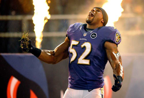 ray lewis Ray Lewis' Last Dance: Legendary Linebacker's Bittersweet Game Entrance Excites Fans