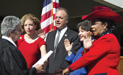 swearing in wilson wasserma Swearing in ceremony for four United States Representatives