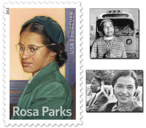 BCT Rosa Parks STAMP Broward County Transit remembers Rosa Parks during Black History Month