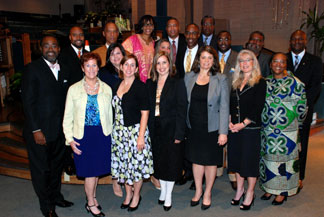 Broward County Broward County School Board Superintendant Mr. Robert Runcie along with eight of the nine women that make up BCSB, joined with other elected officials at a program