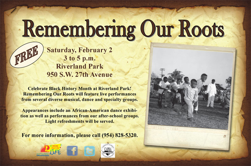 FOOTS1 Celebrate February as Black History Month