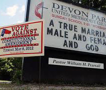 Is the US Government persecuting Christians who don't support gay marriage?