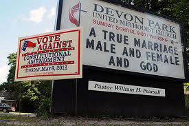 IS THE US GOVERNMENT Is the US Government persecuting Christians who don't support gay marriage?