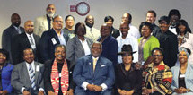 Miami Dade County Public School's African American History Task Force meets in Miami to remember the past and plan for the future