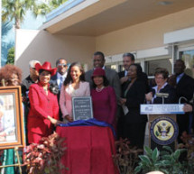 Congresswoman Frederica Wilson honors late civil rights activist at post office dedication ceremony