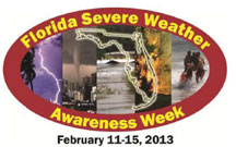 TORNADO DRILL Florida statewide tornado drill postponed to Friday, Feb. 15, 2013