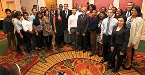 TUSKEEEGEE HIGH SCHOOL STUD High achieving first year students honored at Tuskegee University