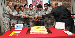 TUSKEEGEE Nurse cake cuttin First Black nurse in Army Nurse Corps honored, anniversary celebrated