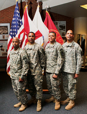 TUSKEEGEE ROTC group Tuskegee's Army ROTC passes on leadership and traditions