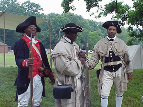 WALK IN THE FOOTSTEPSvalley Walk in the footsteps of Black Patriots at Valley Forge Park
