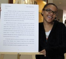 Winners of AARLCC's 2013 Black History Month Essay Contest