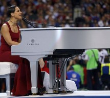 Alicia Keys Star Bangled Banner Performance Super Bowl 2013