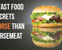 Four fast food ingredients way worst then horse meat