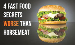 fastfoodhorsemeat 265x1651 Four fast food ingredients way worst then horse meat