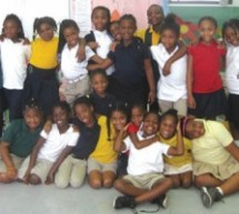 IMPACT GIRLS at Dillard Elementary support the mission of Joe DiMaggio Children's Hospital Foundation