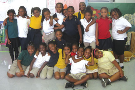 impact GIRLS IMPACT GIRLS at Dillard Elementary support the mission of Joe DiMaggio Children's Hospital Foundation