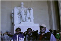 mt New Mount Olive Youth Group witnesses history