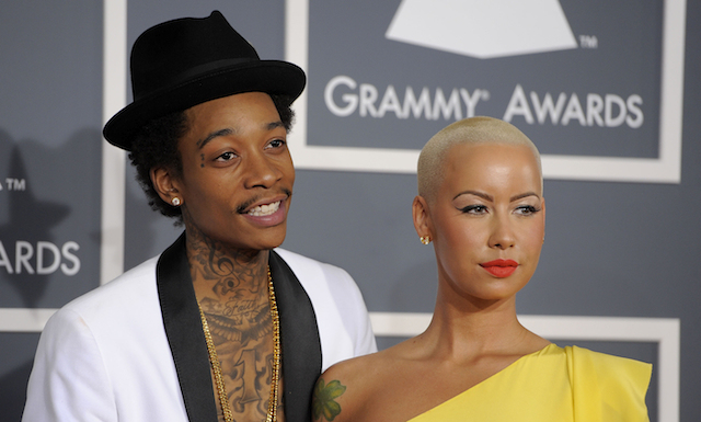 wiz and amber Congratulations! Amber Rose, Wiz Khalifa Welcome Baby Boy