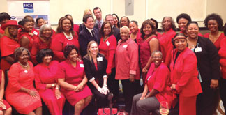 AKA2 AKA Sorority supports HCA Hospitals: East Florida Heart Symposium