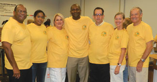 BROWARD LEAGUE ELECTED OFFI Broward League of Cities shows power of volunteerism with Million Hour Challenge service project