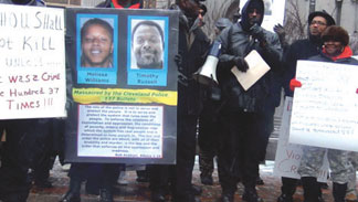 COPS FIRE 137 SHOTS Demonst Cops fire 137 shots, couple dies, community outraged